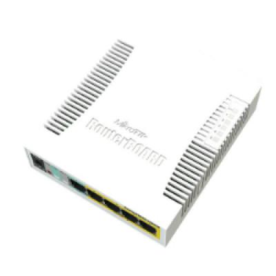 Mikrotik CSS106-1G-4P-1S (RB260GSP) 5-port Gigabit